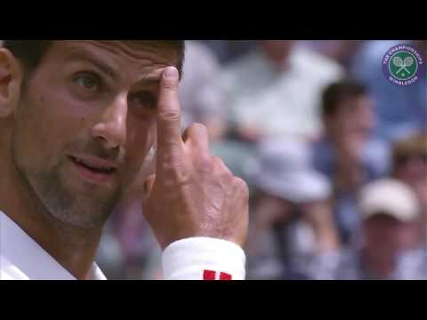 2016, Day 1 Highlights, Novak Djokovic vs James Ward, first round