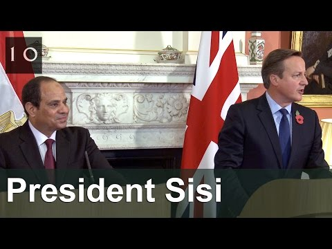 Joint press conference with President Sisi of Egypt