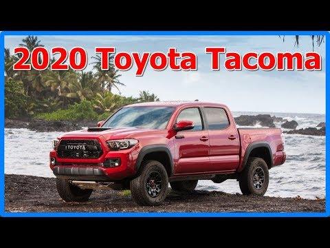 2020 toyota tacoma interior and exterior youtube