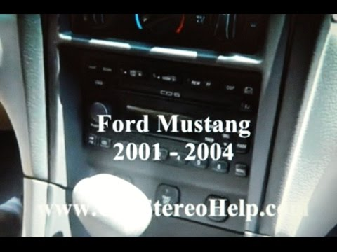 Removing a stuck cd from a car stereo