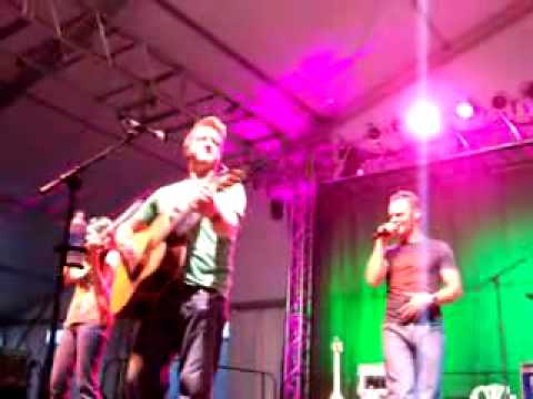 Gaelic Storm Johnny Jump Up with a spoons jam
