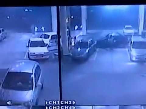 CCTV - Kemalangan di Stesen Minyak