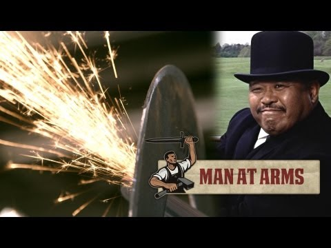 Blacksmithing Oddjob's Hat (James Bond) - MAN AT ARMS