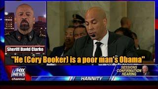 "Sheriff David Clarke: ""He (Cory Booker) is a poor man"