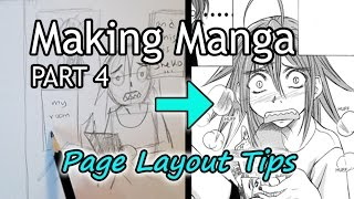 ?How to Make Manga (PART 4)? Panel & Page Layout Tips