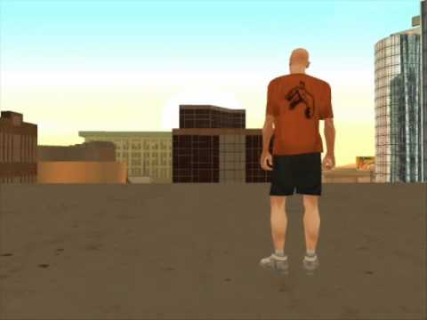GTA SA: Freerunning and tricking! Video