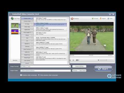Trying out EasiestSoft Video Converter