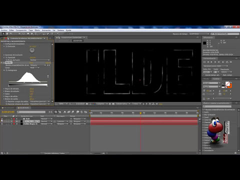 AFTER EFFECTS: Intro efecto soldadura (1 de 2)