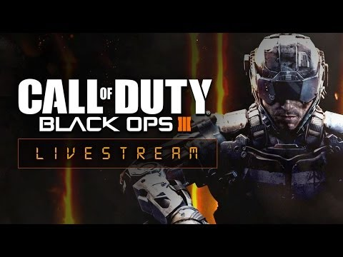 Call of Duty: Black Ops III 4 Player Zombie CO-OP Live Stream