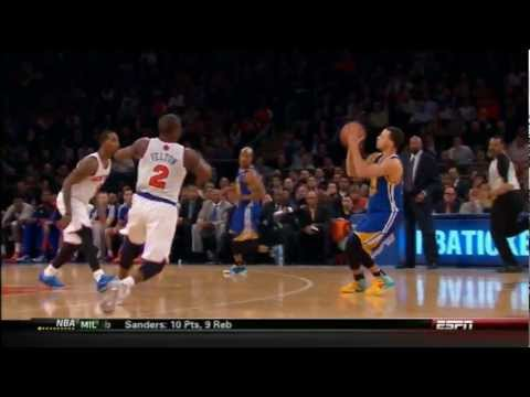 Stephen Curry Goes Off for 54 pts at The Garden