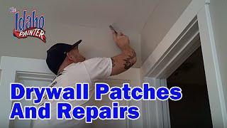 Repairing A Drywall Nail Pop