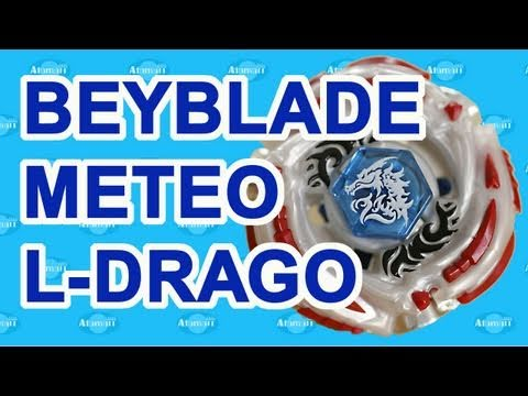 Beyblades Meteo L-Drago BB 88 MFBE Toy Review Unboxing