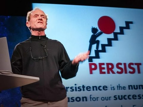 Richard St. John: Secrets of success in 8 words, 3 minutes