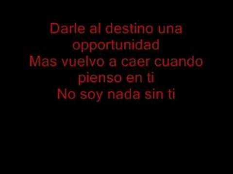 Mi amor rbd lyrics