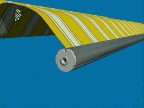 tenda da sole a bracci con cassonetto retractable awnings witht head box 003