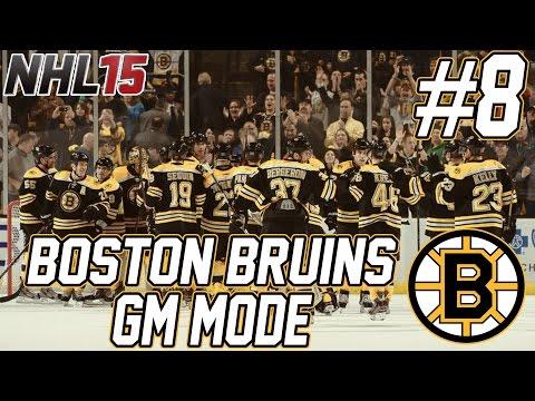 NHL 15: Boston Bruins GM Mode #8 | 2015 Draft, Big Off-Season