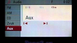 OPEL CD70 / DVD90 Navi without the AUX Input