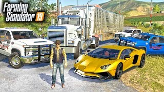 POLICE BUST! ARRESTING MR. CHOW & HIS $1.5 MILLION CHICKEN BUSINESS | FARMING SIMULATOR 2019