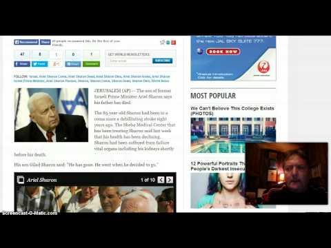 BREAKING! Ariel Sharon Dead!