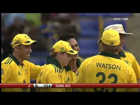 Mitchell Johnson 6-31 vs Sri Lanka 1st ODI 2011