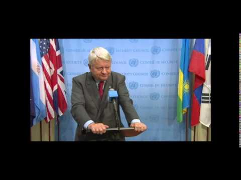 UN's Ladsous Refuses Inner City Press Question on Killing by Peacekeepers in CAR & Haiti, FDLR
