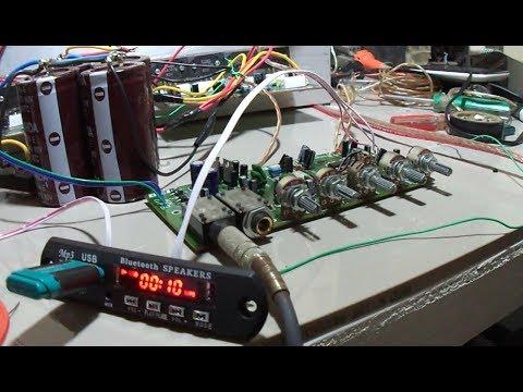 Memasang MP3 untuk Karaokean pakai Power Amplifier 2 x 400 watt Sanken thumbnail