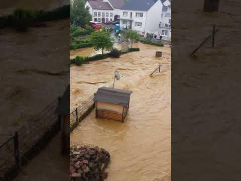 Hochwasser Dudeldorf die zweite Episode 11.06.2018