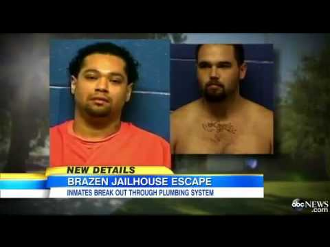Brazen Jailhouse Escape   Oklahoma Prison Break  2 of 4 Escaped Convicts Captured