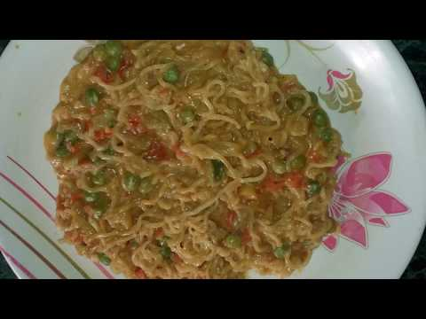 Cheese Maggi Recipe In Telugu/Street style cheese maggi