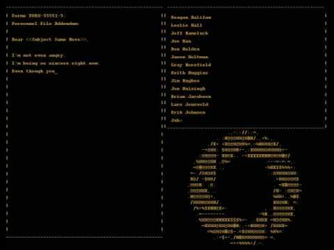 Portal - Credits Song 'Still Alive'