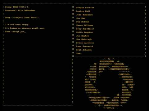 Portal - Credits Song 'Still Alive'
