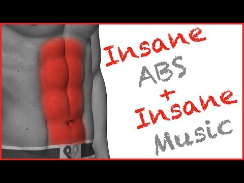 Insane Abs Workout - No Music