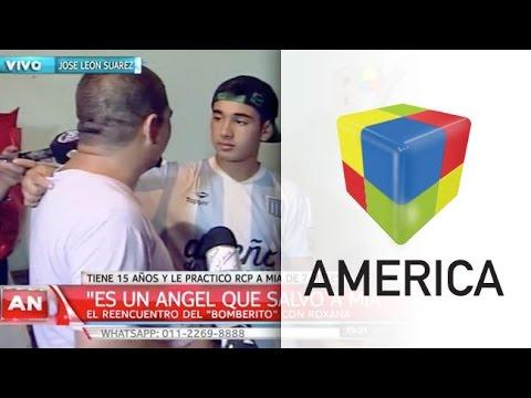 Juan Cruz, el joven que se convirtió en héroe tras salvar la vida de una beba