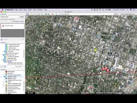 Google Earth Tutorials--Adding from Layers