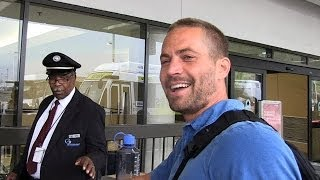 Paul Walker Dead: TMZ's Last Footage of the Actor  12/1/13  (celebrity)