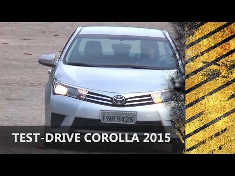 A equipe do MOTORES E A��O avaliou a versão 2015 do Toyota Corolla GlLi 1.8 flex. Confira nosso teste-drive. Motores E A��O - desde 2004 o seu programa autom...