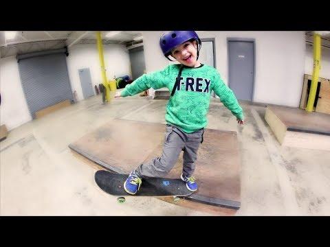 Father Son New Skate Maneuver!