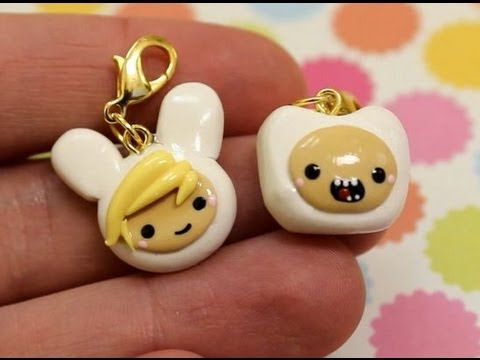 Finn and Fionna Charm Tutorial