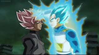 Vegeta VS Goku Black (Rematch) | Dragon Ball Super Episode 63 (English Sub)
