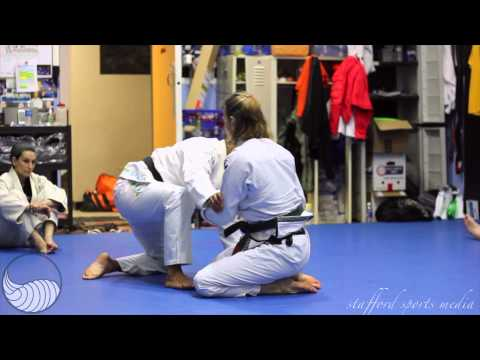 Groundswell Grappling Concepts Coed Camp Hannette spider guard sweep to the back p.2 Image 1