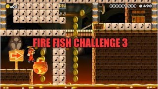 """A Very Tricky Clown Car Trick """"Fire Fish Challenge 3"""" (Super Mario Maker)"""