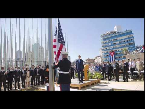 US flag hoisted at embassy in Cuba for first time in 54 years
