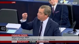 Nigel Farage unveils George Soros corruption with EU