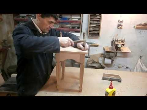 Как сделать шипы пазы на стульях