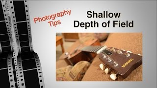 Shallow Depth of Field - Photo Tip