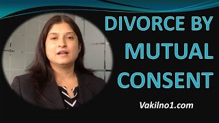 Divorce by Mutual Consent - Step by Step Procedure - Vakilno1.com