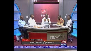 Police Assault @ Midland - Newsfile on JoyNews (21-7-18)