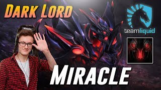 Miracle Dark Lord - Dota 2 Pro MMR Gameplay
