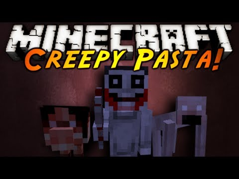 Minecraft Mod Showcase : CREEPY PASTA!