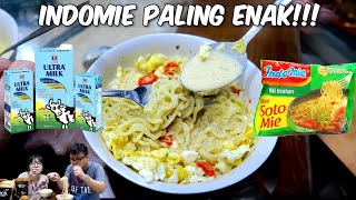 Indomie Kuah Susu Ultra !! Enaknya Gak Wajar !!